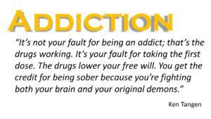 Addiction quote